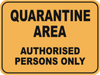 graphic about Quarantine Sign Printable titled Quarantine Biosecurity Signs and symptoms - Quarantine alterations toward