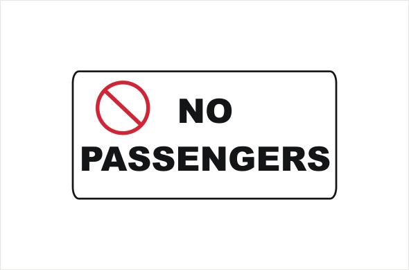 No Passengers
