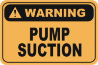 pump suction