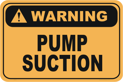 pump suction