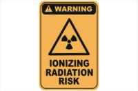 Ionizing Radiation Risk warning sign