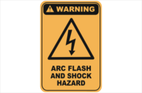 Arc shock Hazard