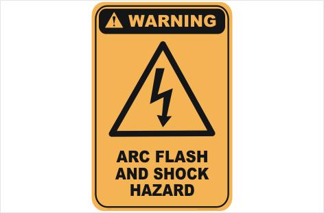 Arc shock Hazard