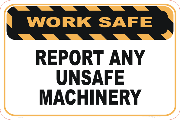 Report Unsafe Machinery