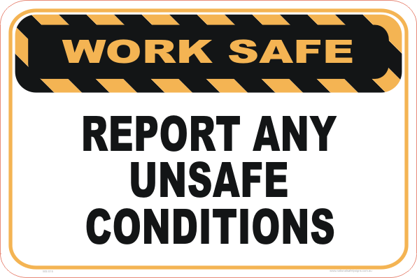 Report Unsafe Conditions