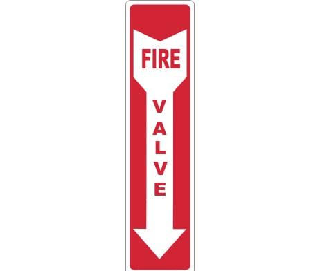 Fire Valve sign