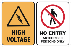 High Voltage No Entry