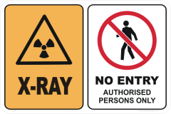 X-RAY - NO ENTRY