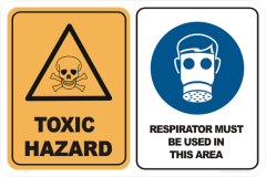 Toxic Hazard signs