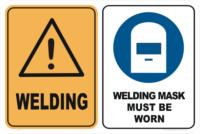 Welding Warning Signs