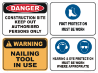 Construction Site Signs
