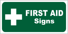 Emergency First Aid Signs