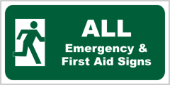 Emergency All Signs
