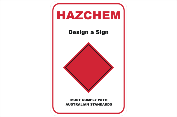 HazChem Design a Sign