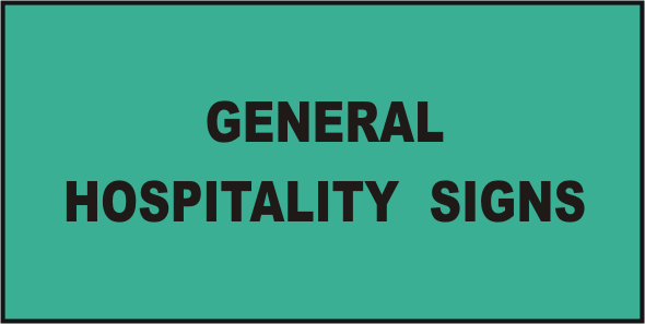 Kitchen Safety Signs Hospitality Signs National Safety Signs
