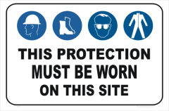 PPE,hard hat, boots, eye protection, clothing