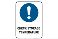 Check Storage Temperature