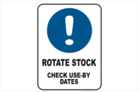 Rotate Stock check use-by dates