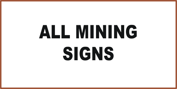 Mining Signs Danger Signs Ppe Signs National Safety Signs