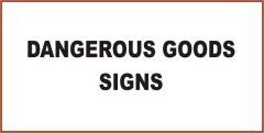 Mining Dangerous Goods Signs