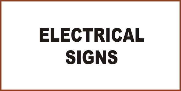 Mining Electrical Signs