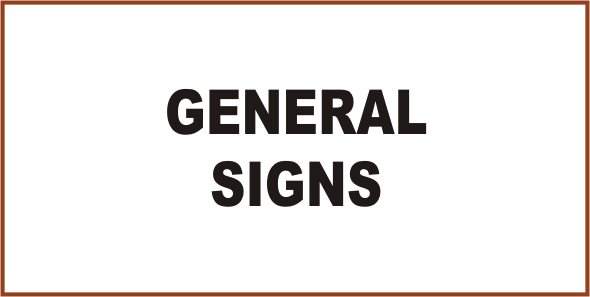 Mining General Signs