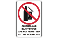 Alcohol and illicit drugs prohibited