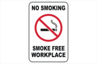 No Smoking Smoke Free Workplace