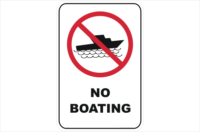 No Boating