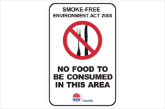 NSW Smoking signs