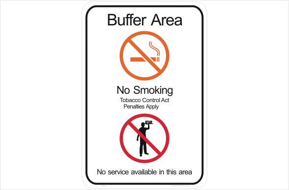nt no smoking buffer zone p22521
