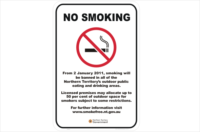 NT no smoking outdoor areas