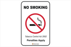 NT Smoking signs