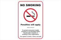QLD No smoking penalties apply