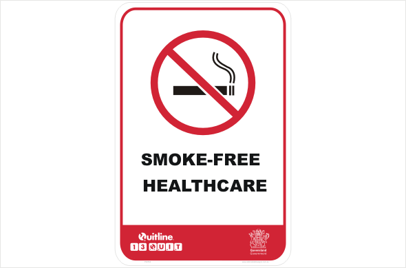 QLD Smoke-free healthcare