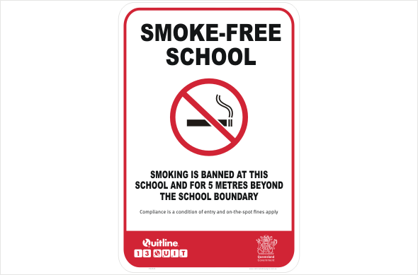 QLD Smoke-Free School