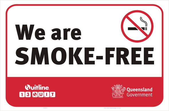 QLD we are smoke-free