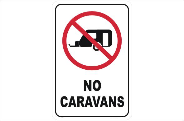 No Caravans