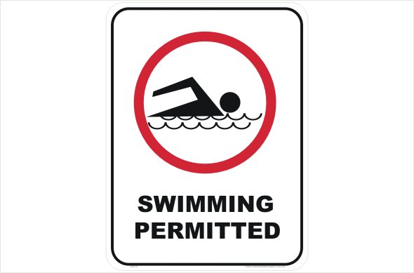 Swimming Permitted