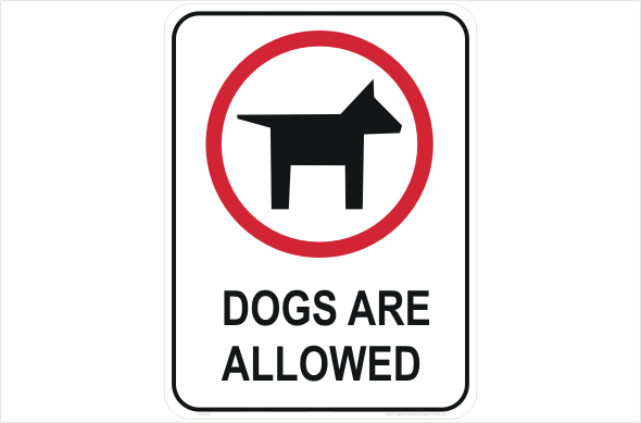 dogs are allowed