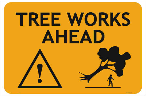 Tree Works Sign
