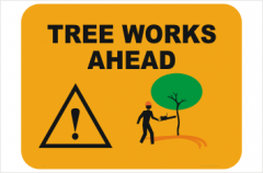 Tree Works Ahead