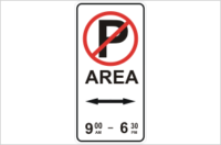 Parking Prohibited