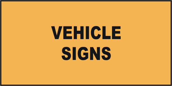 Road Vehicle Signs
