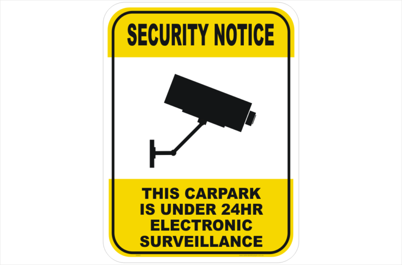 Security CCTV Camera Carpark
