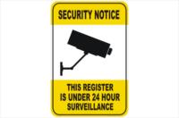 Security CCTV register under 24hr surveillance