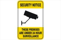 CCTV Camera Signs