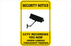 Security CCTV recording you now
