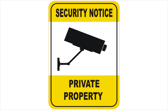 Security CCTV private property