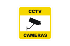 Security Camera Stickers
